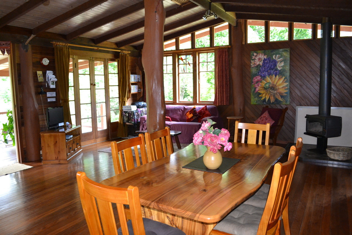 Inside the guest house nimbin holiday accommodation for Cost to build a guest house