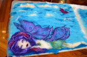 Creative freedom - the art of felting image