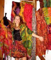 Suzanne Mc Gauley - Felt Artist in the hills of Nimbin NSW image